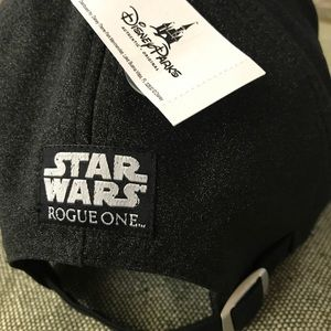 037fc45ec13 Disney Accessories - Authentic Disney Rouge One Star Wars Hat